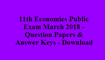 11th economics one mark questions with answers – NewsBundles